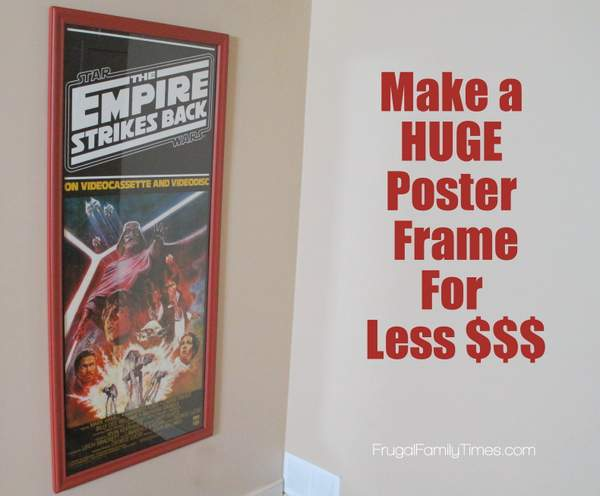how to make a frame for poster