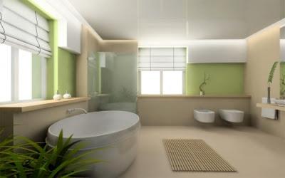 piastrelle mattoni moderni : Piastrelle e rivestimenti con mosaici ceramici per un bagno moderno