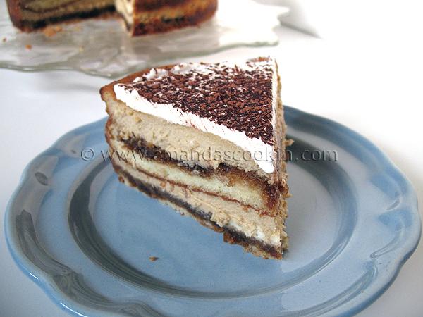 Tiramisu Cheesecake - Amanda's Cookin'