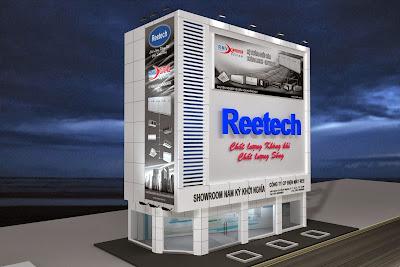 Showroom máy lạnh Reetech