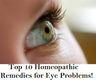 Top 10 Homeopathic Remedies for Eye Problems!