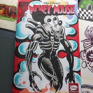 Tattoo, cincinnati art, cincinnati, mickey mouse, mikey mouse drawing