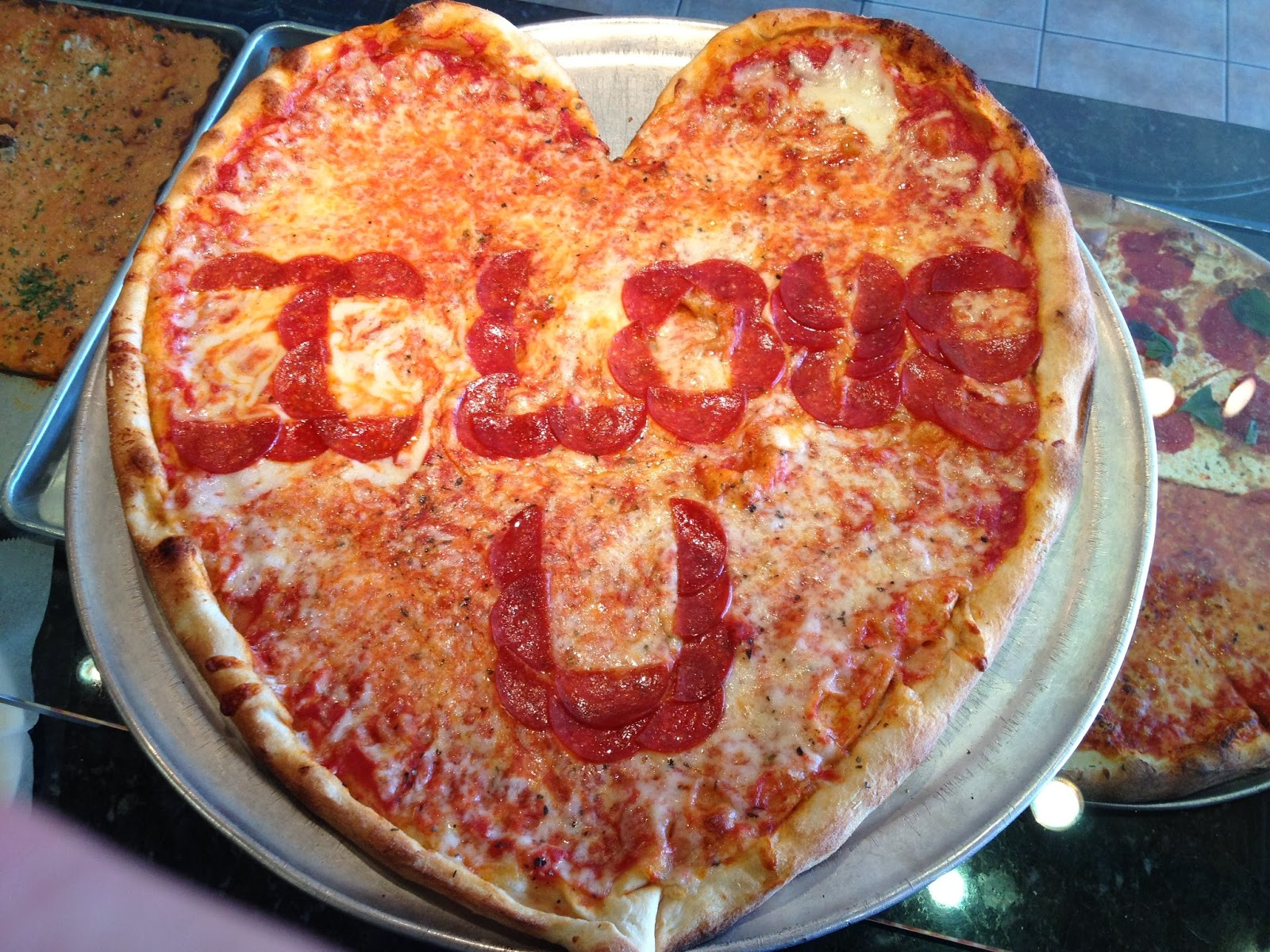 where to find heart shaped pizza for valentine's day in nepa, Ideas