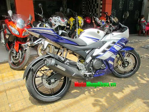 Yamaha R15 2014 màu xanh