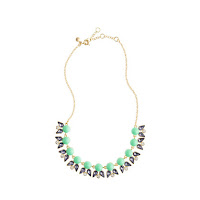 J. Crew Pearls and Petals Necklace