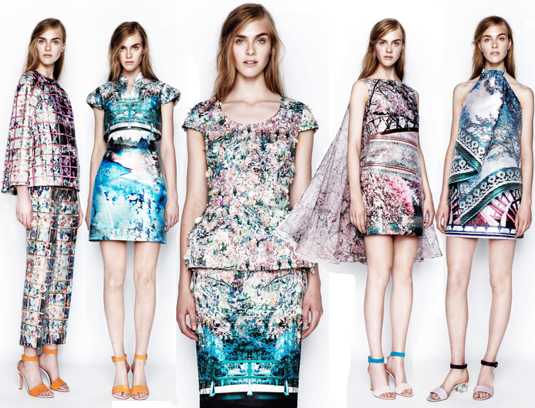 Mary Katrantzou Resort Pre-spring 2014