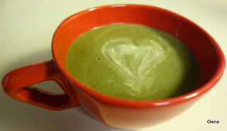 French spinach soup