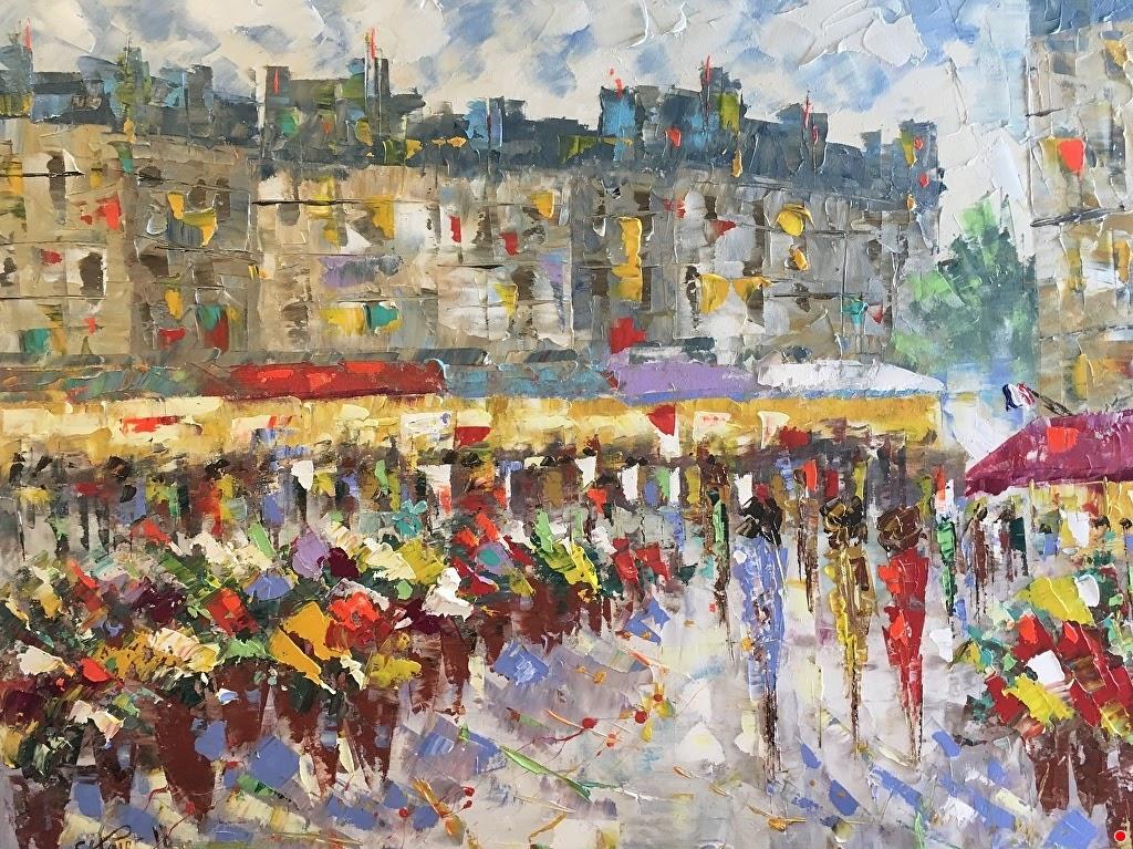 Frederic Payet Flowers market Paris
