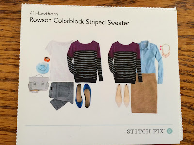Rowson Colorblock Striped Sweater