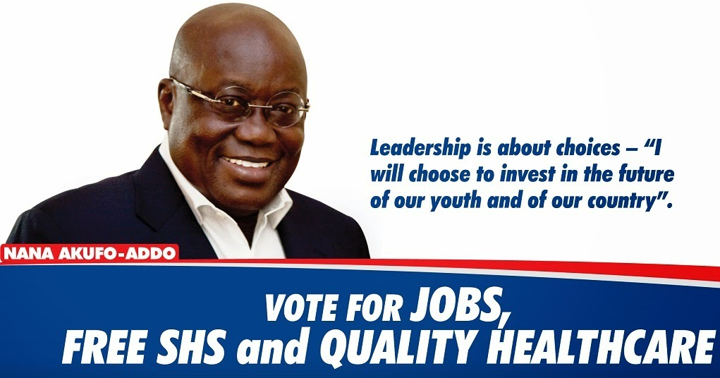 Ghana in tatters; help me and NPP to get power - Akufo-Addo