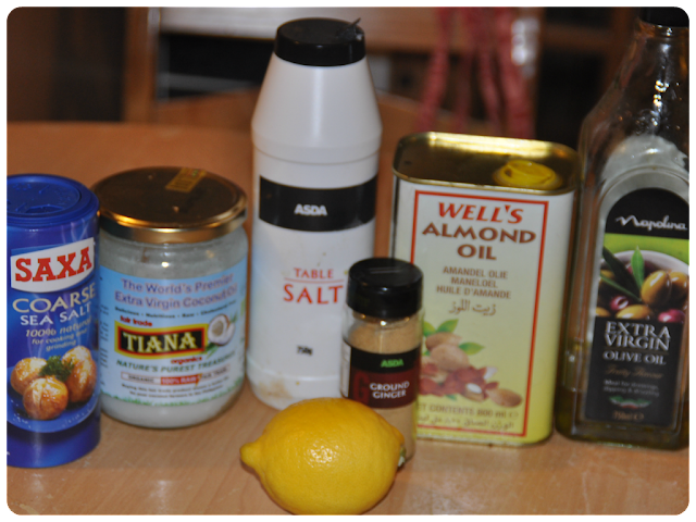 diy ginger and lemon body scrub inspired by origins ginger body scrub