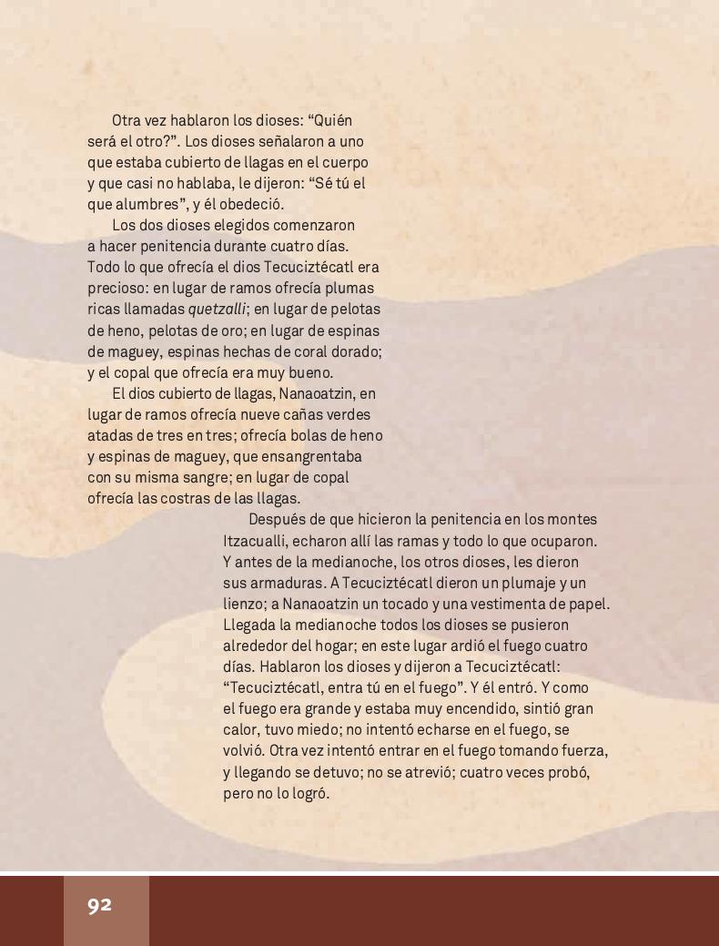 De la luna - Español Lecturas 4to 2014-2015