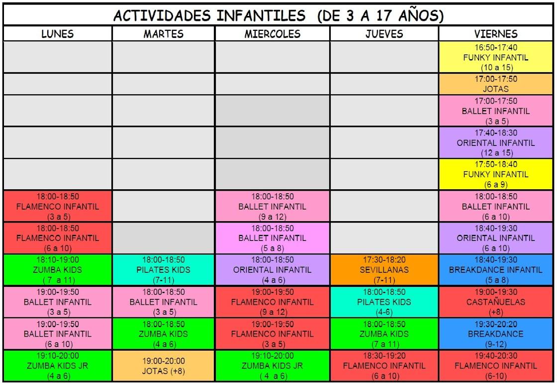 ACTIVIDADES INFANTILES