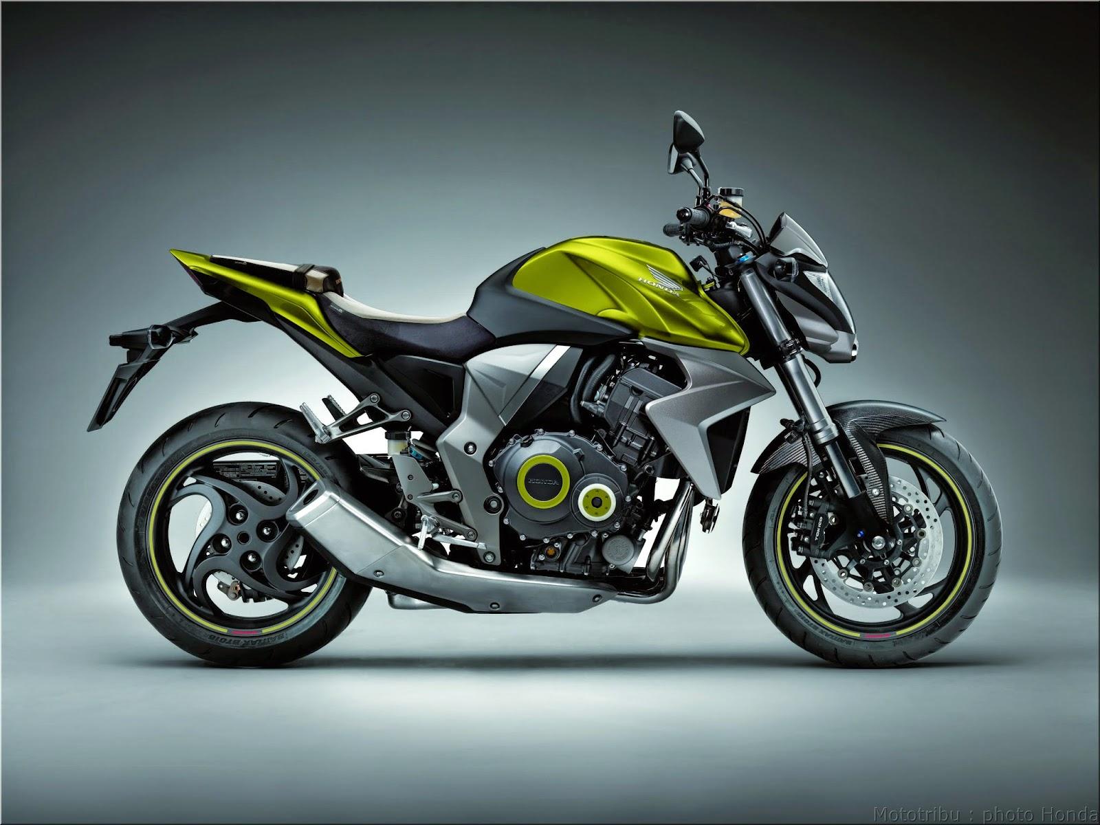 Honda Bike In Green Colour