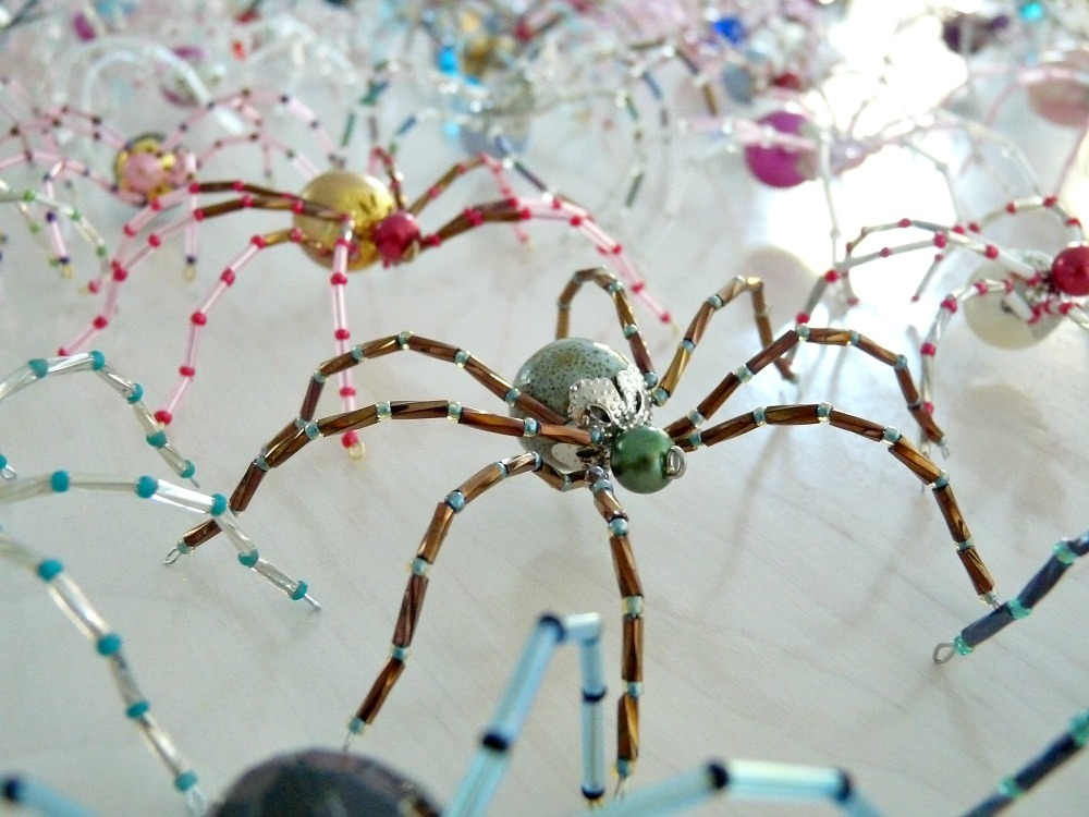 handmade gifts ideas for teachers - The Christmas Spider