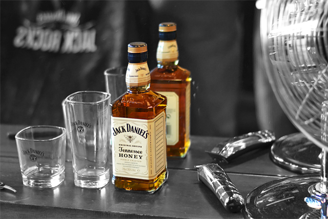 Turn it inside out // Jack Daniels event