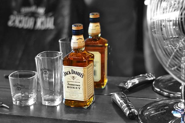 Turn it inside out // Jack Daniels event