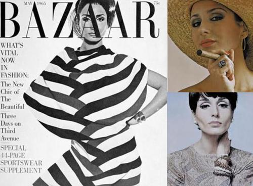 Naty Abascal portada de la revista Harpers Bazaar