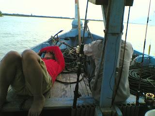 mencegah mabuk laut