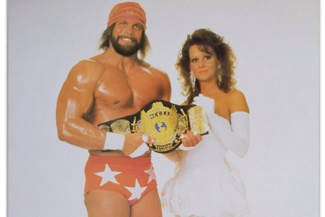 Randy and Elizabeth WWE power couple