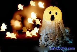 làm đồ Halloween