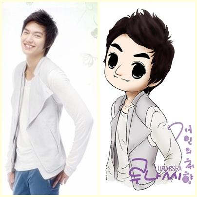 Lee Min Ho Cartoon