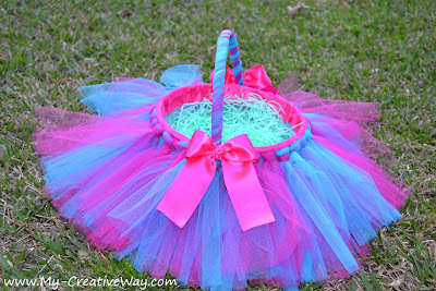 Moms shopping engine shop save sell and sharee place for this basket idea from my creative way is tutu cute if you have a girly girl then she will adore this easy handmade tutu easter basket negle Images