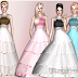 My Sims 3 Blog: Tulle Ball Gown by ErysaM