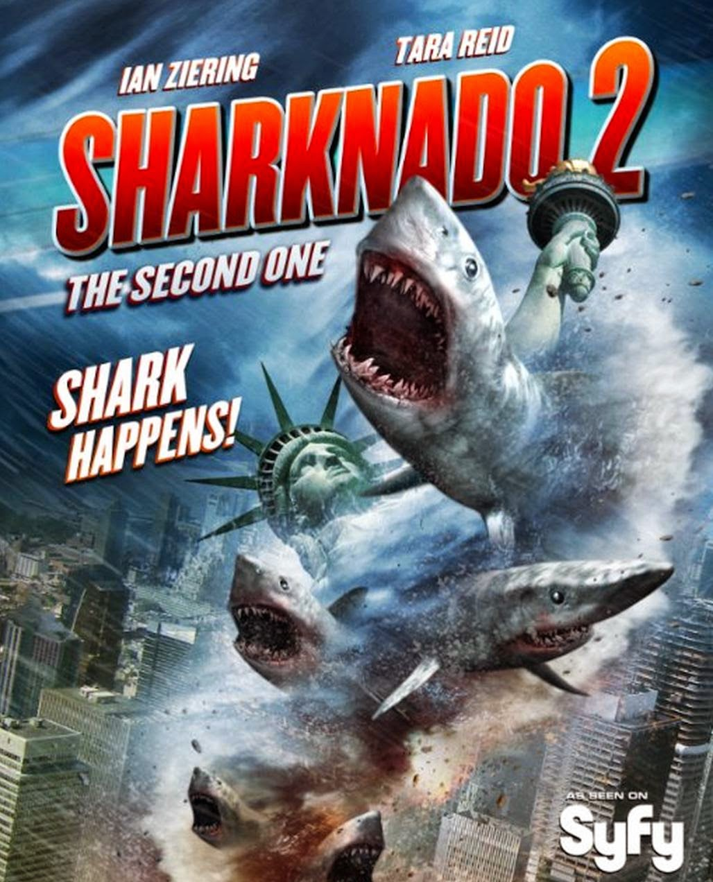 Download Filme Sharknado 2: A Segunda Onda HDTVRip AVI + RMVB Legendado