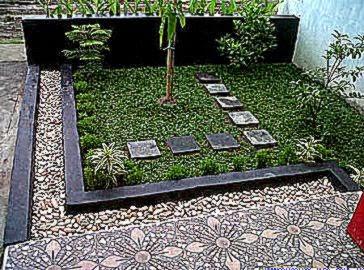 Berbagai Taman Rumah Minimalis Modern untuk Desain  Desain dan