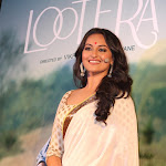 Sonakshi Sinha Looks Gorgeous In Saree At The Film 'Lootera' Trailer Launch