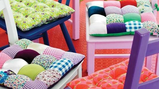Como hacer almohadas para sillas imagui - Como hacer cojines para sillas ...
