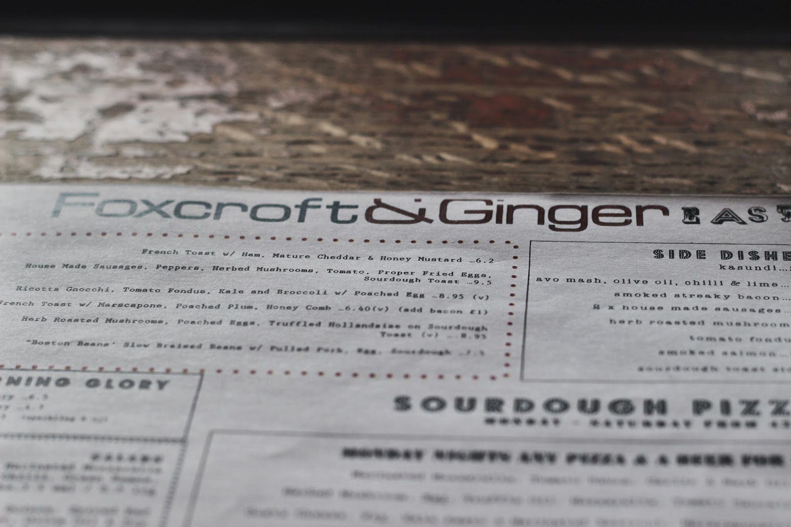 Foxcroft and Ginger Review