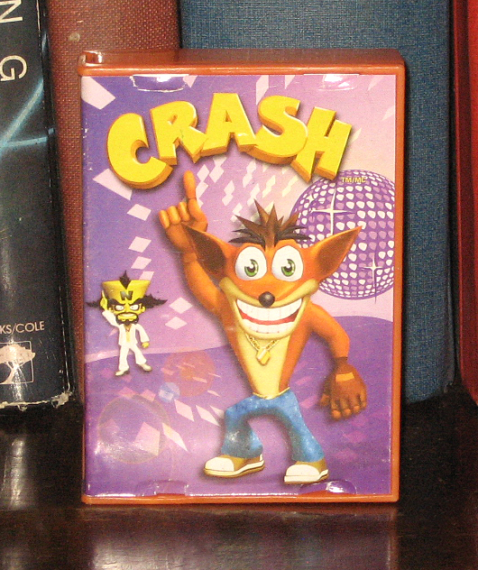 Crash Game Toy : Percy s fast food toy stories crash bandicoot mcd