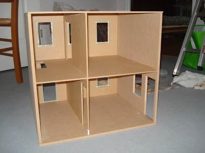Maison de Poupées, Miniature,Maquette,Structure