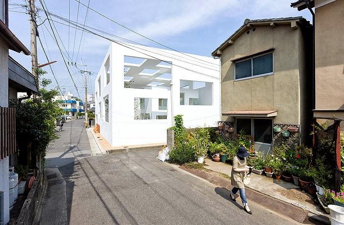 Case giapponesi contemporanee house n sou fujimoto - Case giapponesi moderne ...