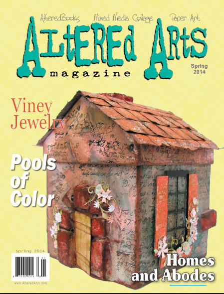 Altered arts magazine sea dreams cottage Spring cottage magazine