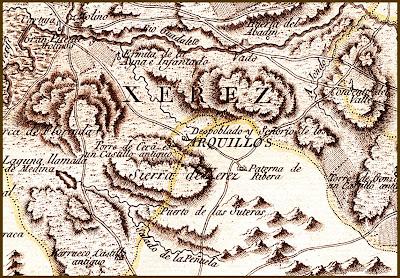 Mapa de Tomás López de 1787