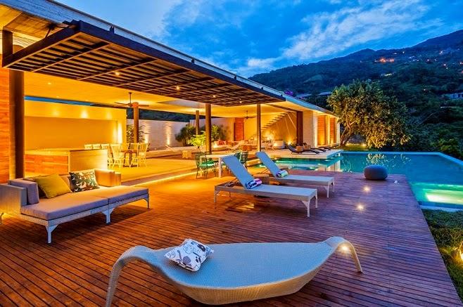 Casa 7a arquitectura en estudio natalia heredia for Terrazas y piscinas modernas