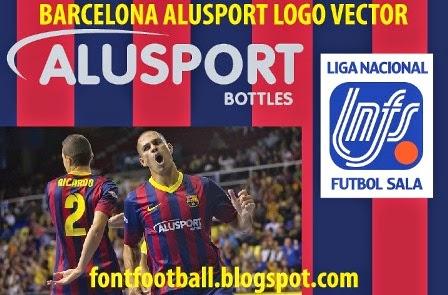 Barcelona Football Logo Logo Vector Barcelona Alusport