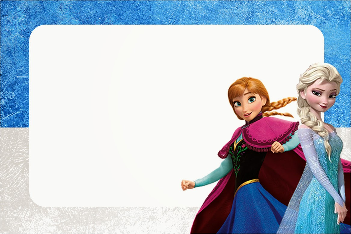 Frozen Birthday Card gangcraftnet