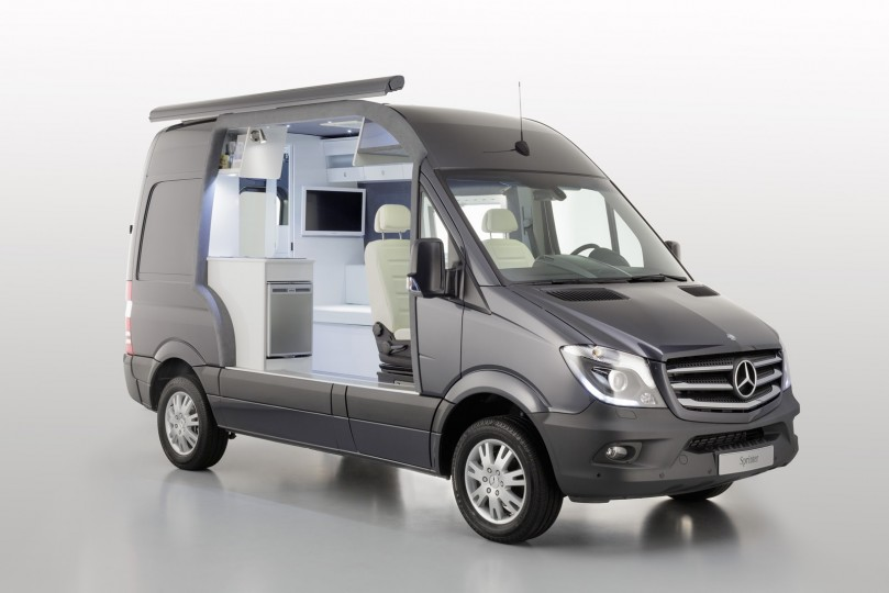 mercedes benz to release sprinter camper van
