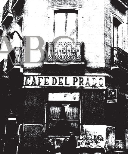 Antiguos caf s de madrid y otras cosas de la villa de for Calle prado 9 madrid