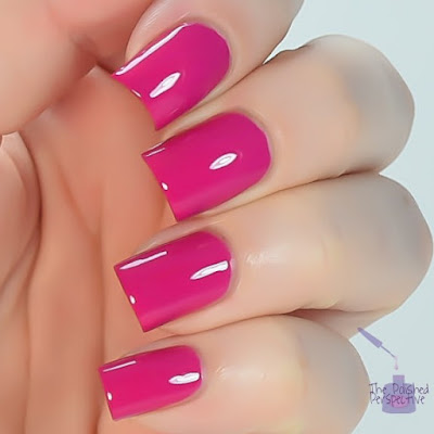 china glaze in the near fuchsia swatch