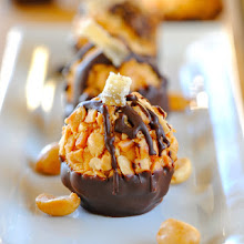 Red Curry Peanut Butter Thai Truffles