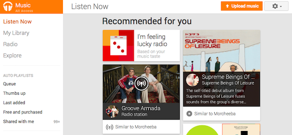 how to get radio on google play music