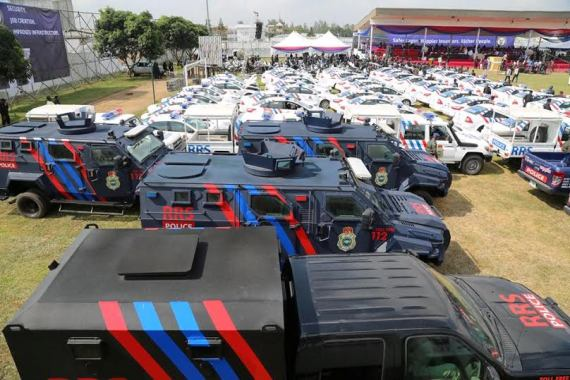 lagos state armor truck vehicles
