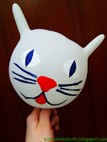 Rękawiczki silikonowe - kotek