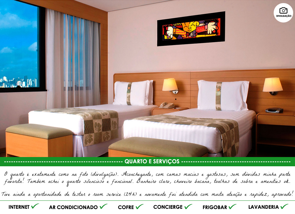 Holiday Inn Parque Anhembi - quarto