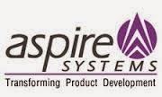 Aspire Systems Job Openings in Chennai for freshers 2014
